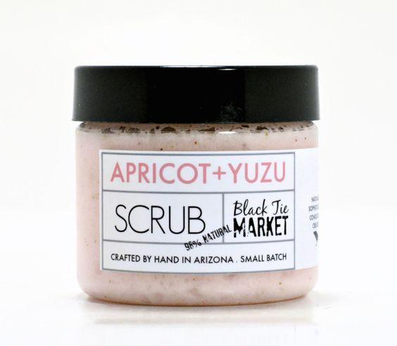 Apricot Yuzu Sugar Scrub