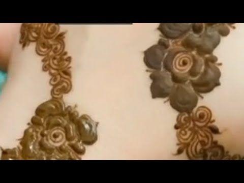 طريقه نقش حناء راقي للعروس Henna Youtube In 2021 Wall Lights Candle Sconces Henna