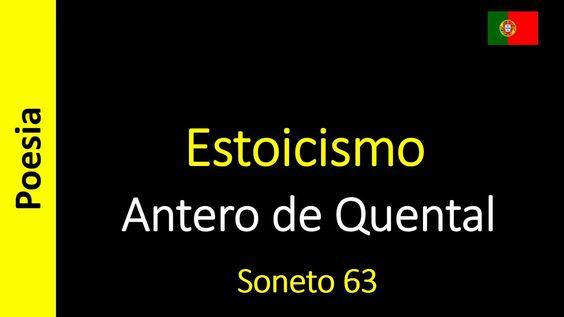 Antero de Quental - 63 - Estoicismo