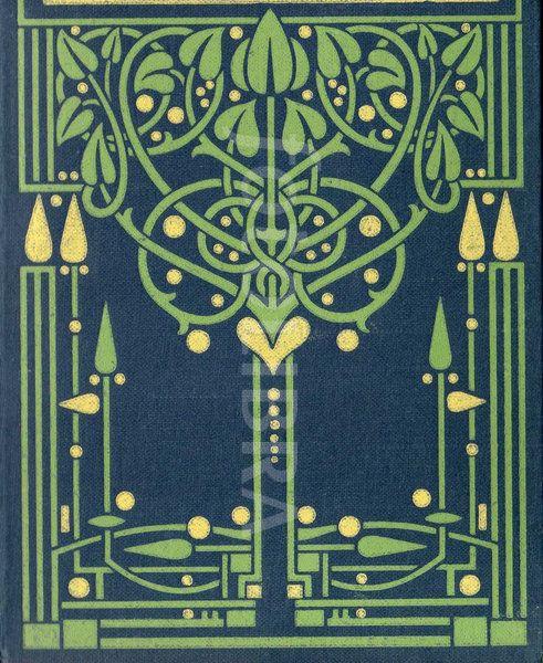Book Cover Design Glasgow : Art nouveau glasgow school book design an original highly