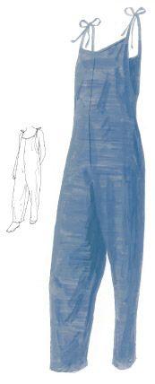 Caroline's Linen Overalls