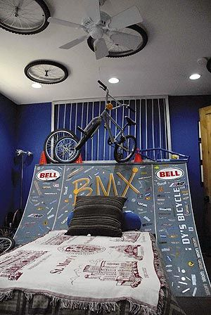 BMX Bedroom Ideas for Teens