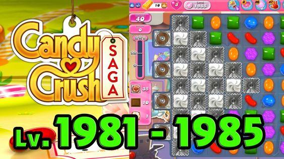 Candy Crush Saga - Level 1981 - 1985 (1080p/60fps)