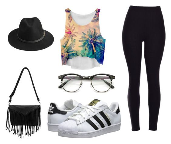 """""""Sundays"""" by be-differient ❤ liked on Polyvore featuring Chicnova Fashion, BeckSöndergaard and adidas Originals"""