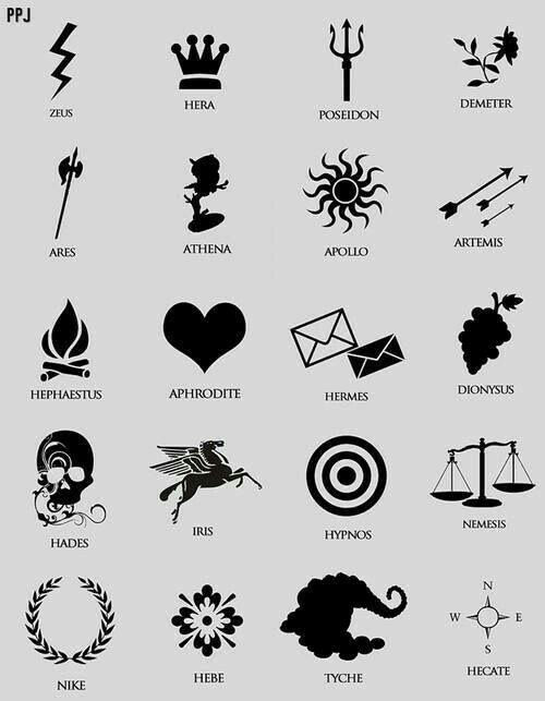 Pin De Kaachan En Aleatório Dibujos Percy Jackson Simbolos Griegos Tatuajes Mitologia Griega