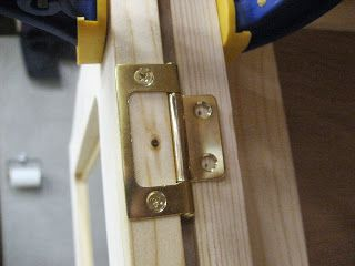 Installing Non Mortise Hinges On Inset Cabinet Doors With