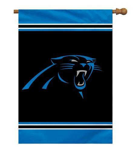 Carolina Panthers Single Sided Banner Flag