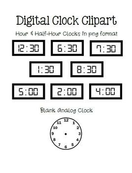 Printables Digital Clock Worksheets art clock and worksheets on pinterest telling timepractice digital hourhalf hour clip clocks
