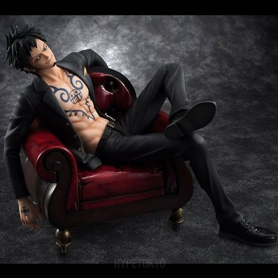 One Piece Portrait.Of.Pirates 1/8 Scale Figure : Trafalgar Law [S.O.C]
