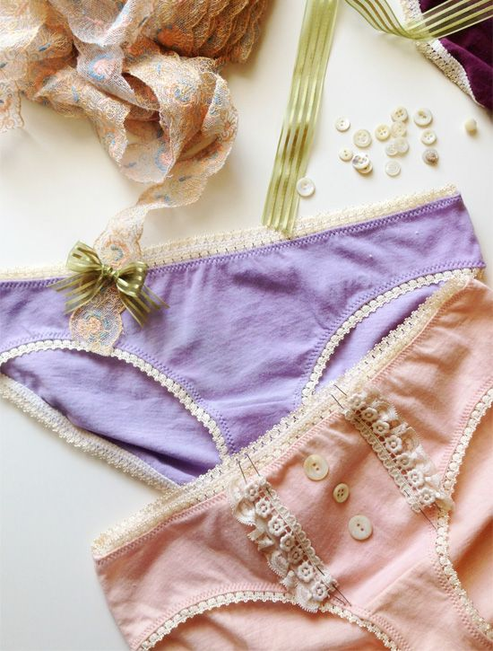Tips for sewing your own underwear: