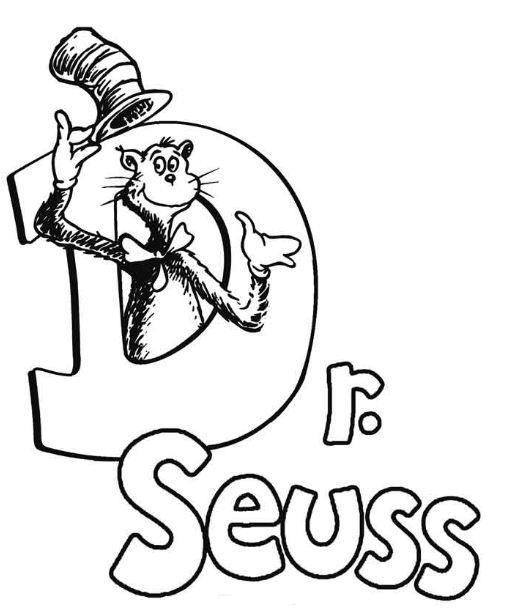 - Dr Seuss Coloring Page Dr Seuss Coloring Pages, Dr Seuss Day, Dr Seuss  Coloring Sheet