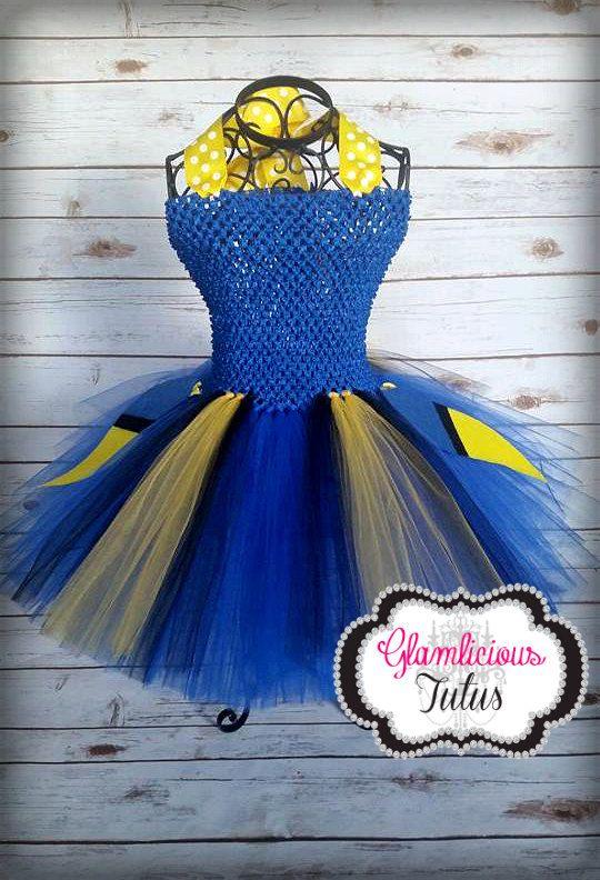 Dori costume| Fish tutu dress| Fish costume| newborn- size 10 child listing
