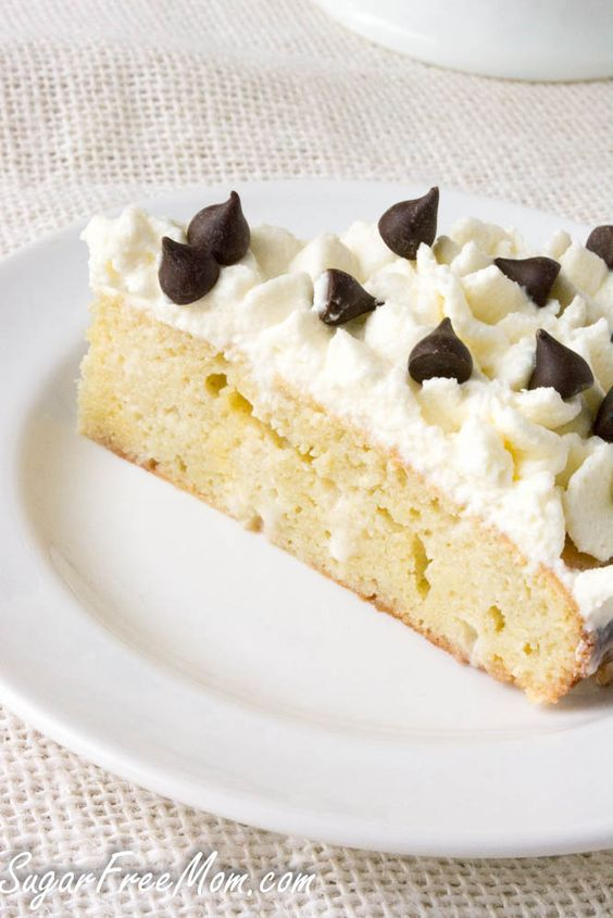 Low carb tres leches. Top with whipped cream and omit the chocolate chips.