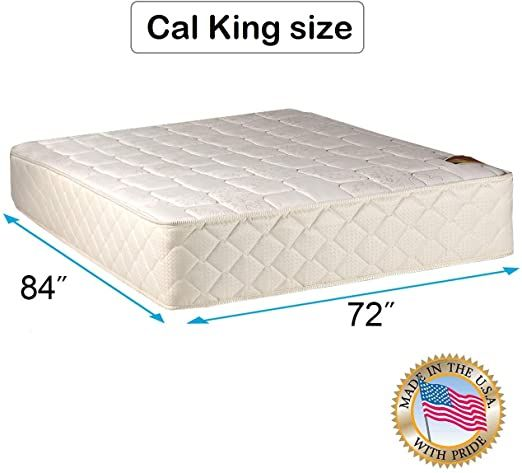 Dream Sleep Grandeur Deluxe 2 Sided California King Mattress Only Fully Assembled Good For Your Back Luxury Height In 2020 Mattress Covers Mattress Sleep Support