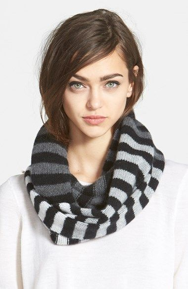 Free shipping and returns on Halogen® Dégradé Stripe Cashmere Infinity Scarf at Nordstrom.com. Deepening stripes saturate a sumptuously soft cashmere infinity scarf.