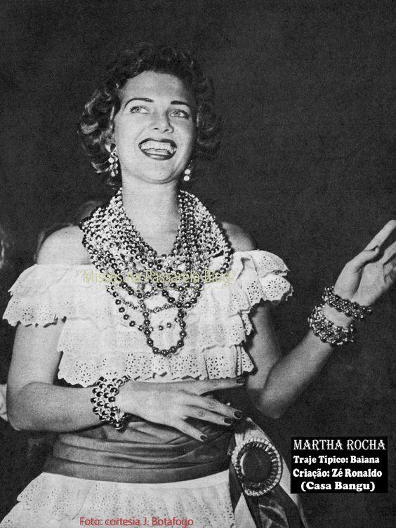 "MISSES NA PASSARELA: A ""BAIANA"" DE MARTHA ROCHA"