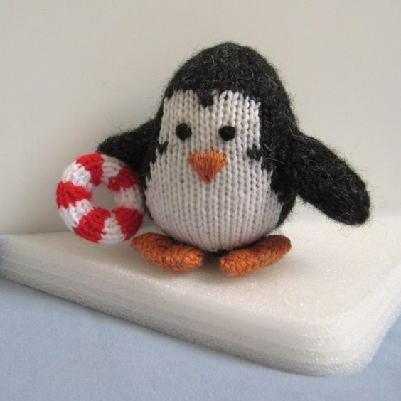 Knitting Pattern For Penguin : Hopkins the Penguin toy knitting pattern Swim, Toys and ...