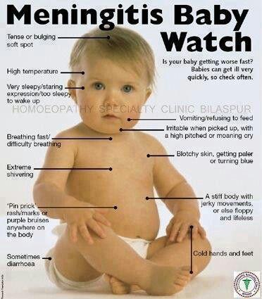 Meningitis in baby www.Lsmuedu.com