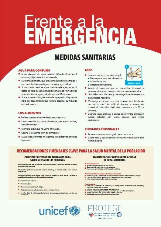Medidas ante emergencias