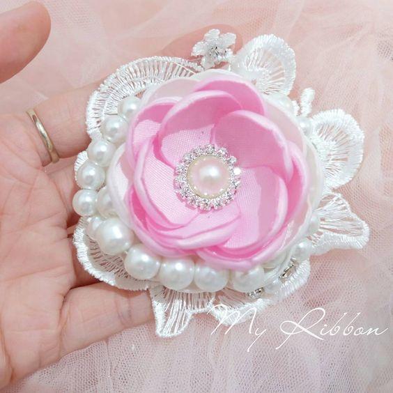 L 08 Singel lotus pearl #handmade #handmadeaccessories #baby #babyshop…