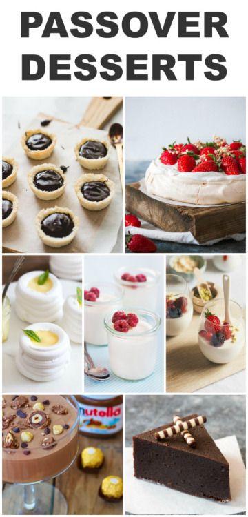 Gluten Free Passover DessertsReally nice recipes. Every  Mein Blog: Alles rund um die Themen Genuss & Geschmack  Kochen Backen Braten Vorspeisen Hauptgerichte und Desserts # Hashtag