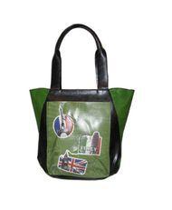 ESPE Vacation Green Tote Bag Purse Handbag
