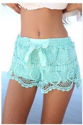 Fashion Lace Shorts SA710CE – Tepayi