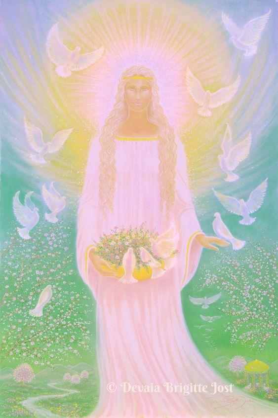 Brigitte-Devaia-Jost Engel des Friedens der Ruhe und Harmonie