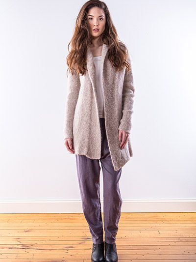 Knitting Pattern Cocoon Cardigan : Cardigan & Jacket Knit Patterns - Cocoon Cardigan Knit Pattern like to ...
