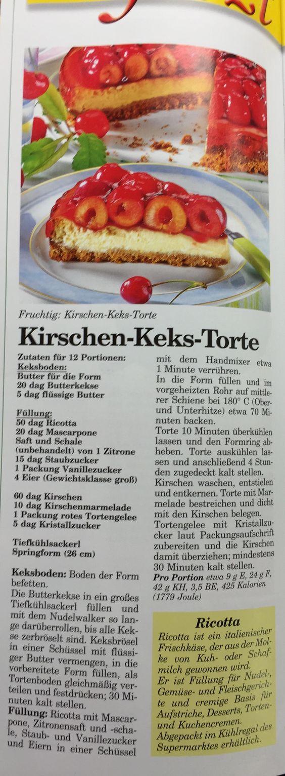 Kirschen-Keks-Torte