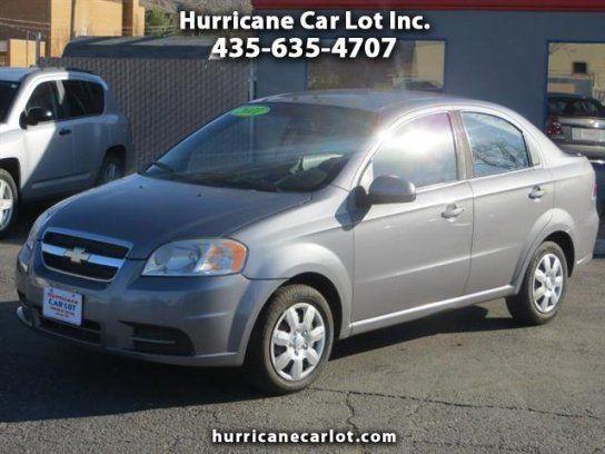 Sedan 2011 Chevrolet Aveo Sedan With 4 Door In Hurricane Ut