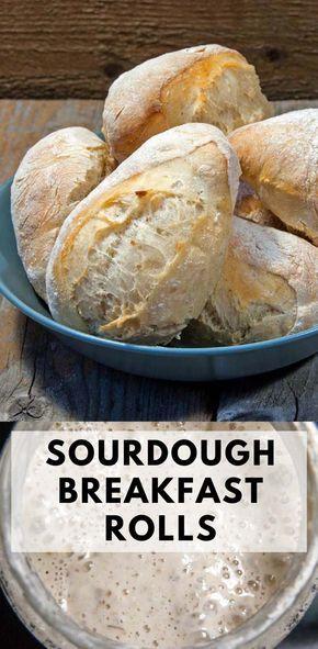 Sourdough Breakfast Rolls Opskrift Boller Frokost Og Brod