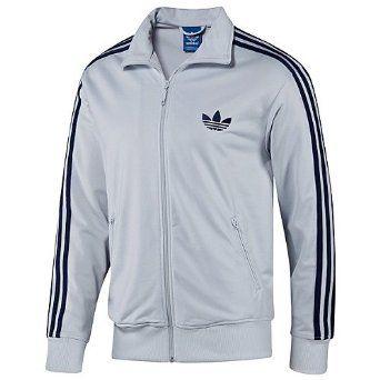 adidas white track jacket