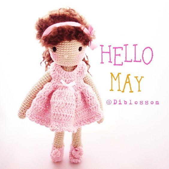Meet Miss Daisy. Amigurumi doll. (Inspiration). ☆