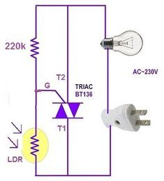 Automatic Street Light Circuit in 2020 | Electronic circuit