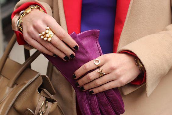 i love purple gloves