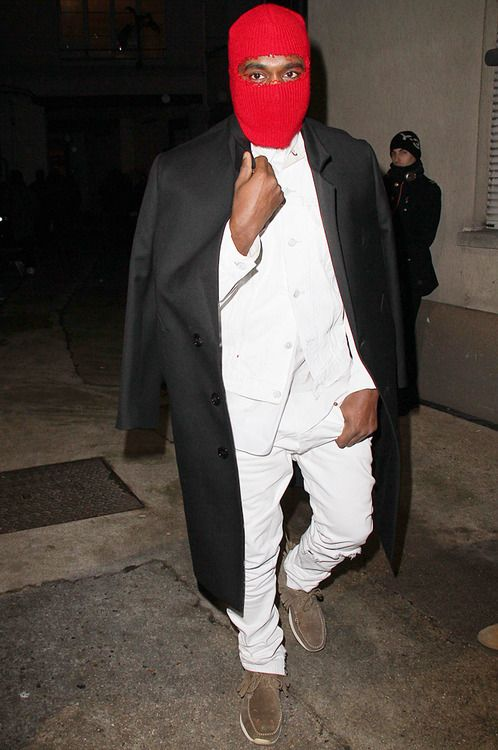 Balaclava Kanye West Outfits Kanye West Kanye Fashion