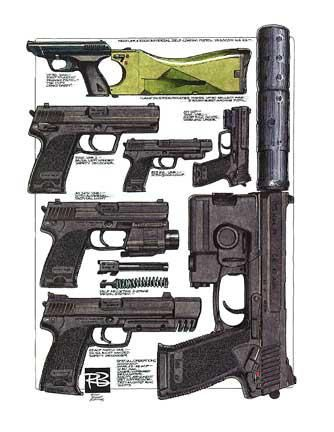 Robert Burrows - Heckler & Koch USP MK23 Find our speedloader now! http://www.amazon.com/shops/raeind