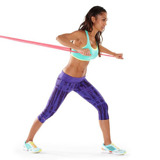 resistance band chest exercises pdf