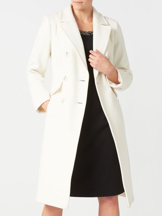 DOUBLE BREASTED COATDOUBLE BREASTED COAT
