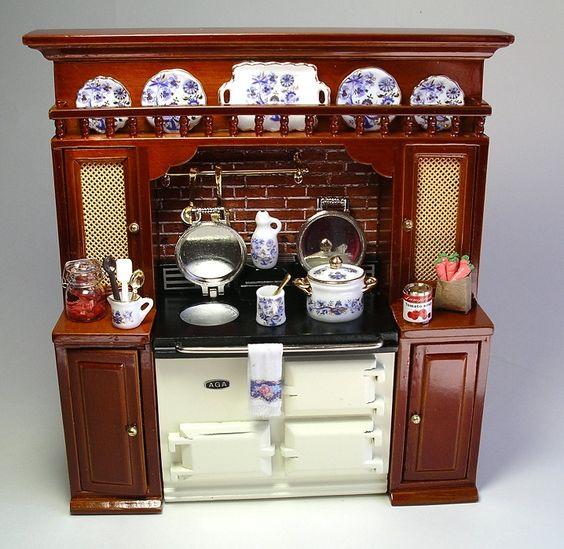 Blue Onion Aga stove display