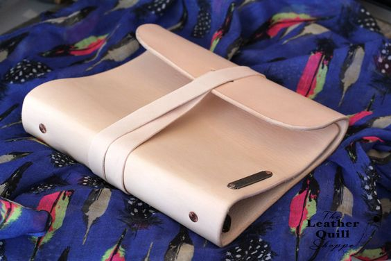 1 Leather Strap Add On.  Wrap Closure from The Leather Quill Shoppe