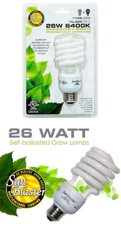 Grow Light Bulbs 178988 Sunblaster Compact Fluorescent Lamp Cfl