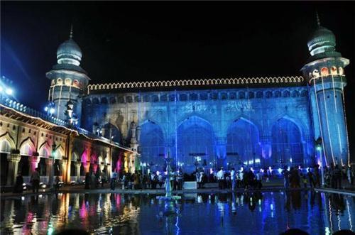 Mecca Masjid in #Hyderabad City