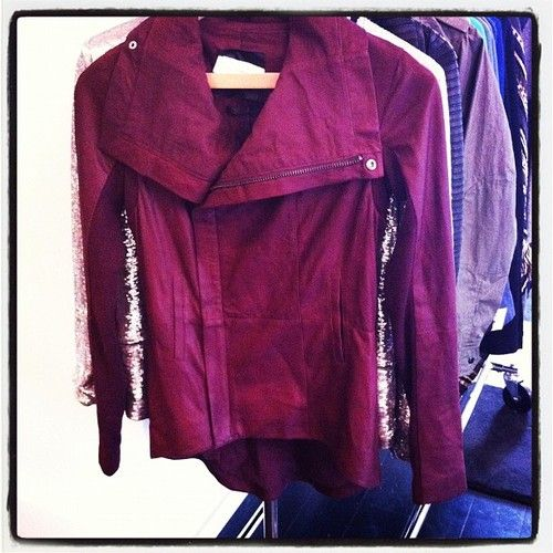 Leather jacket - ScoopNYC - Instagram