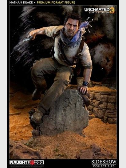 Uncharted 3 - Nathan Drake Premium Format 42 cm