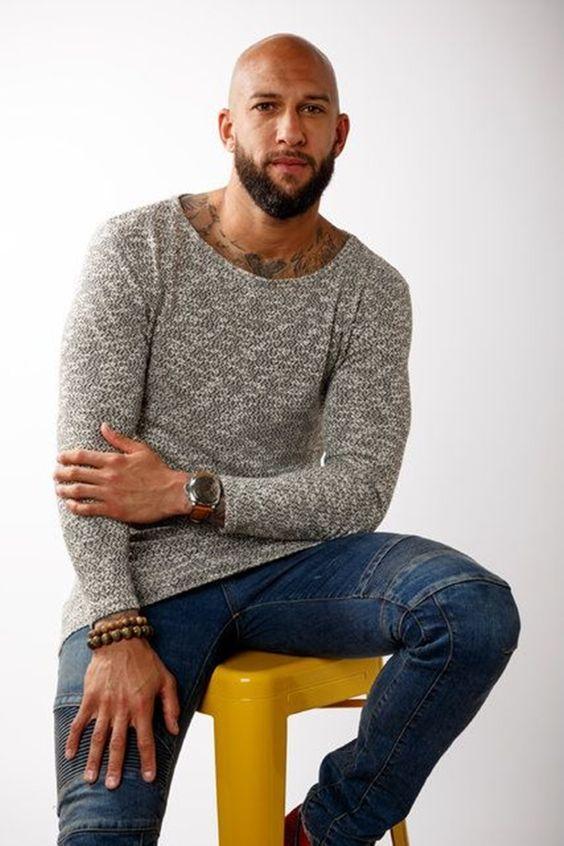 42 Dapper Beard Styles For Bald Men Bald Men With Beards Bald Men Style Bald Men With Beards Bald Men