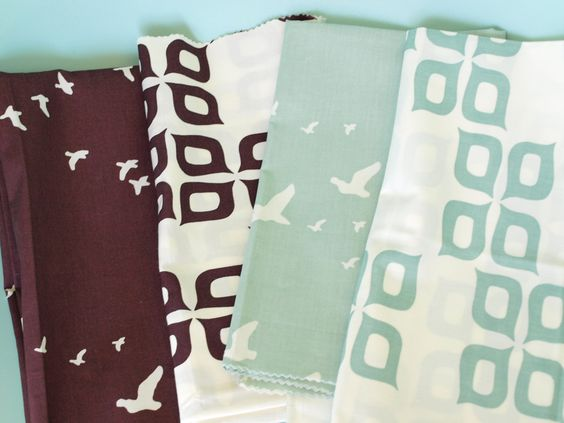 Camp Modern by Jay-Cyn Designs for Birch Fabrics, organic collection coming in September 2012