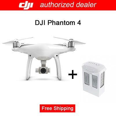 Sales Promotion DJI Phantom 4 UAV Remote Control Quadcopter+Free Extra Battery On #Ebay