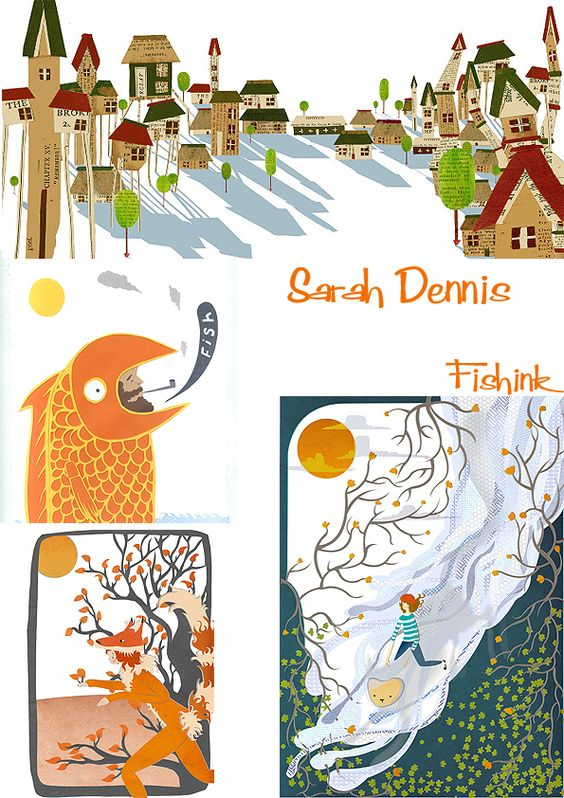 Fishinkblog 4868 Sarah Dennis 2 Check out my blog ramblings and arty chat here www.fishinkblog.w... and my stationery here www.fishink.co.uk , illustration here www.fishink.etsy.com and here http://www.fishink.carbonmade.com/projects/4182518#1 Happy Pinning ! :)